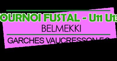 Tournoi Futsal BELMEKKI le 15 décembre 2019