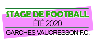 Stage foot ETE 2020